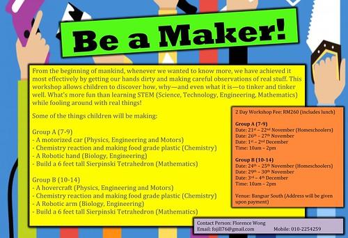 STEM Maker workshop
