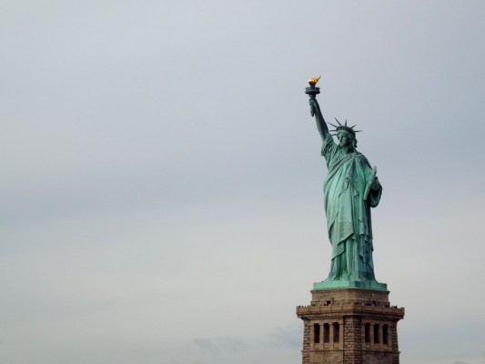 Liberty Island, New York - the tea break project solo travel blog