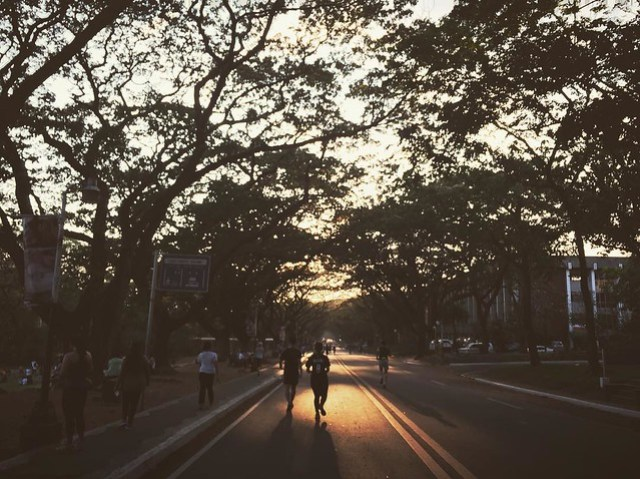 Sunday run again at the UP Academic Oval #stravarun #stravaphoto #stravarunning #ig #igers