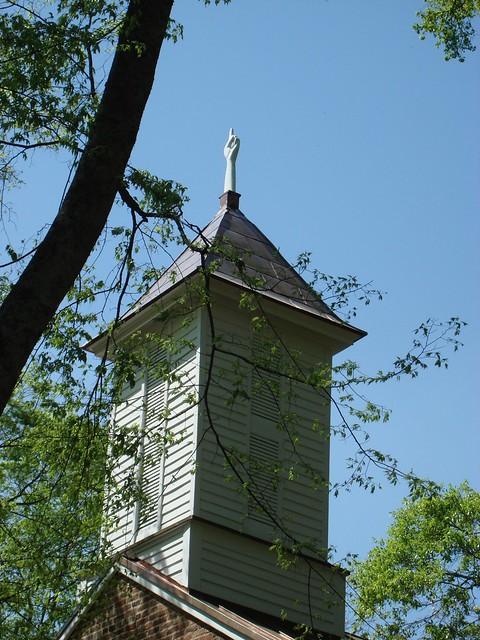 Finger Pointing Toward Heaven, 1839 Mooresville Brick Church, Mooresville AL