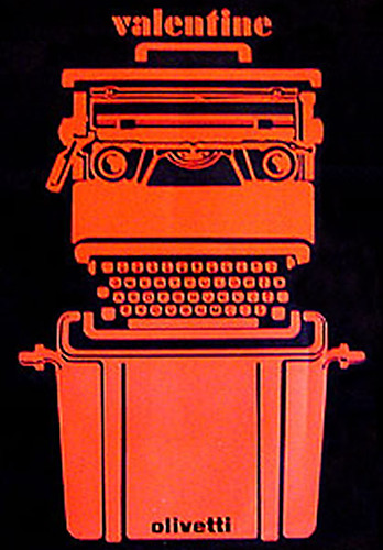 Olivetti Valentine Poster Designed By Ettore Sottsass