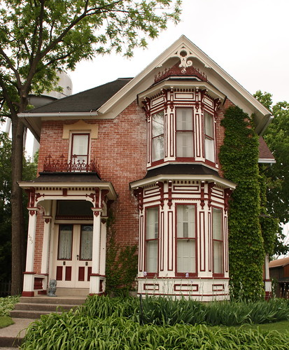 Nice Old Victorian House Main Street In Pecatonica