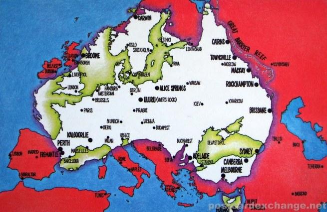 Australia vs Europe