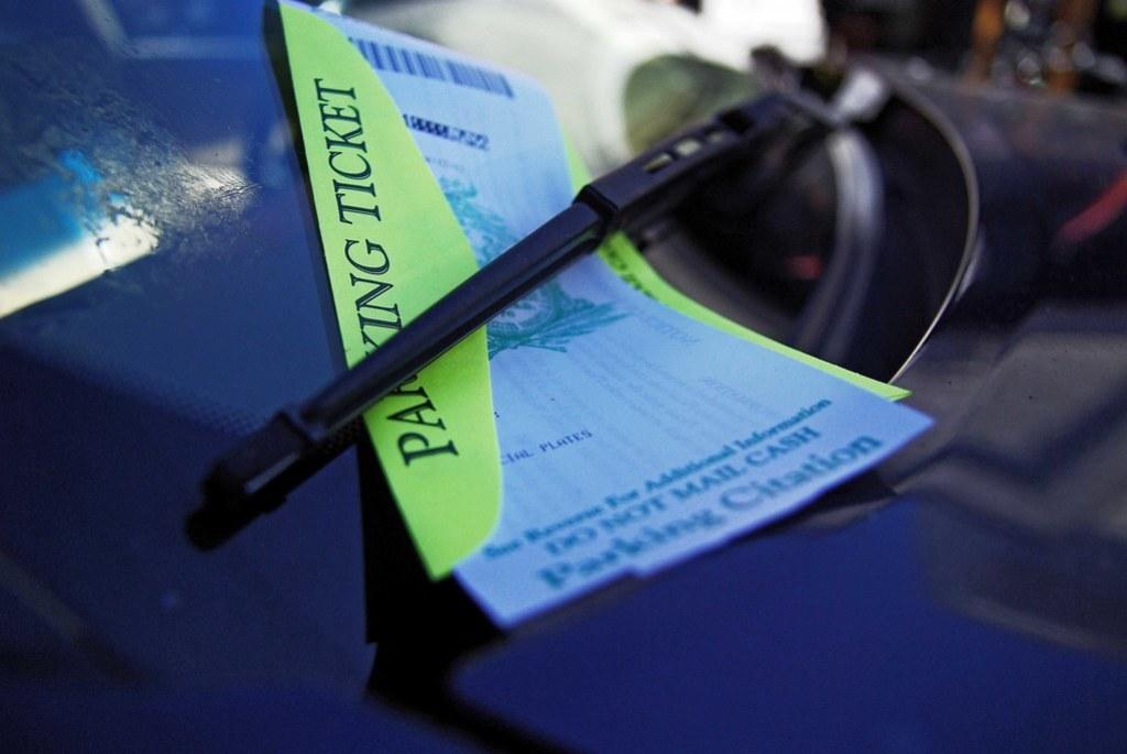 Charleston parking ticket