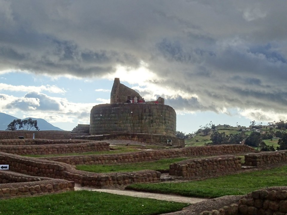 La Condamine Templo del Sol Ingapirca Ecuador