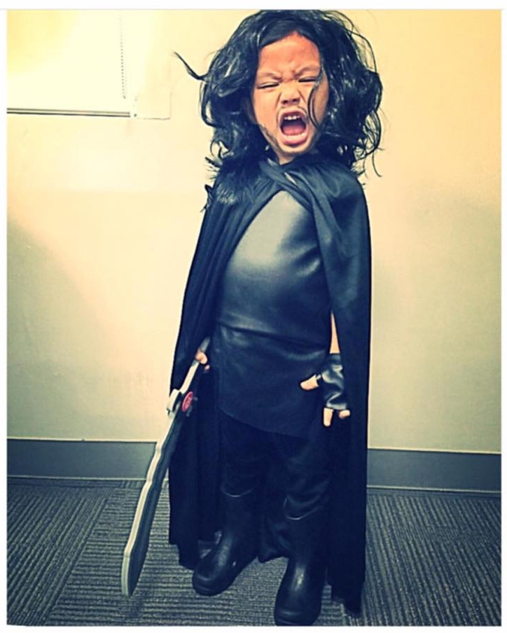 DIY Halloween Costume Jon Snow