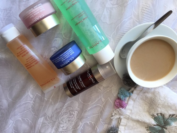 Morning Routine (WIN) + Clarins Daily Duo Review