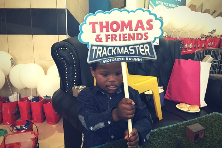 Thomas and the great race