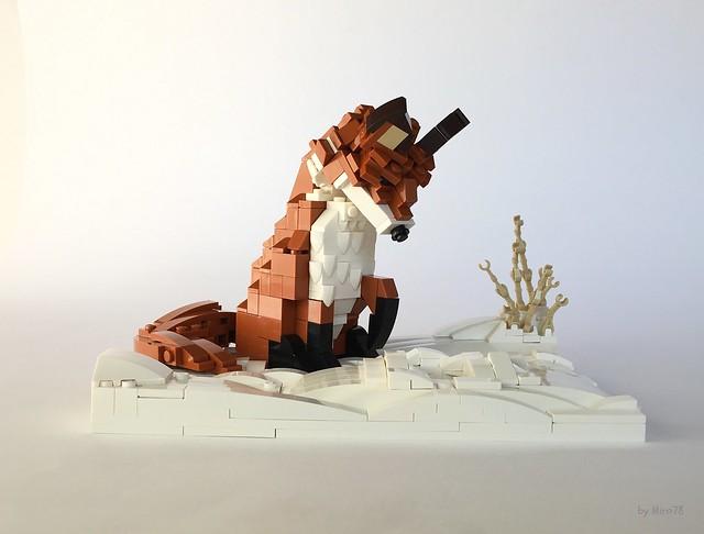 Winter Fox Hunt