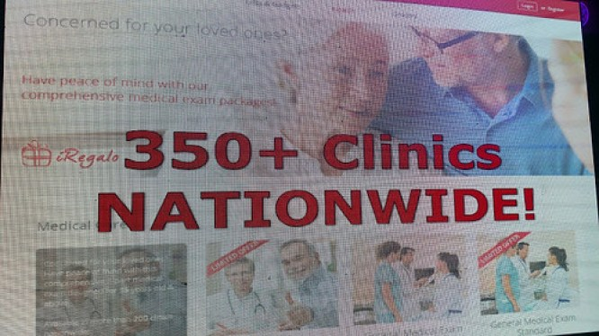 Over 350 clinics nationwide