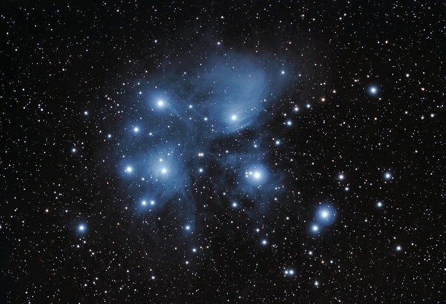 M45, the Pleiades, on January 25th, 2014
