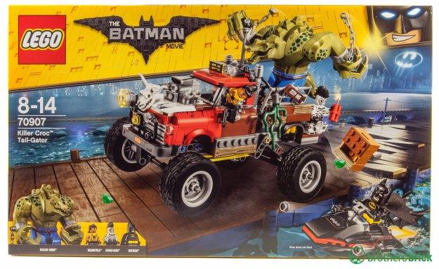 LEGO Batman Movie 70907 Killer Croc Tail-Gator [Review ...
