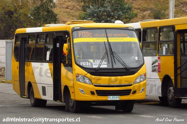 Transantiago F03c   STP Santiago   Caio Foz - Mercedes Benz / FLXS28