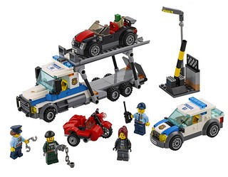 LEGO City Auto Transport Heist (60143)