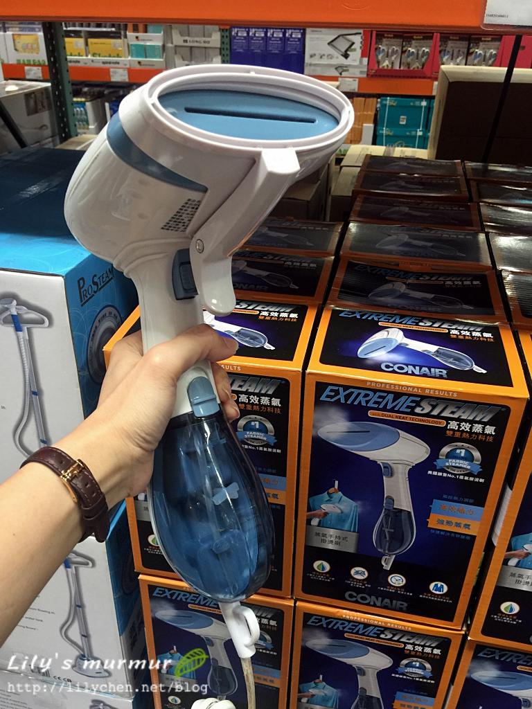 在Costco買的Conair手持蒸氣掛燙刷