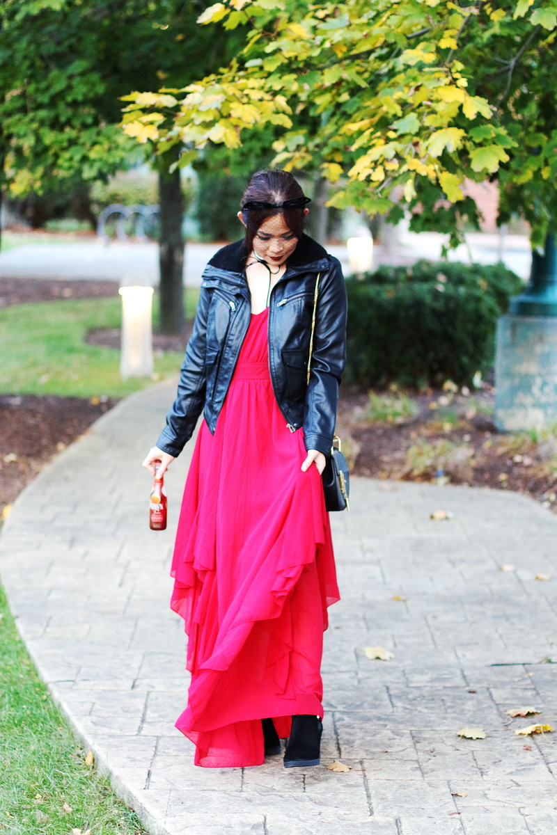 shein-red-maxi-dress-leather-jacket-suede-boots-9