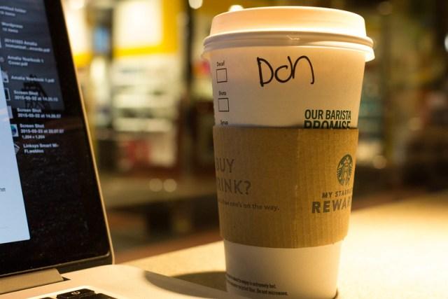 My chai!