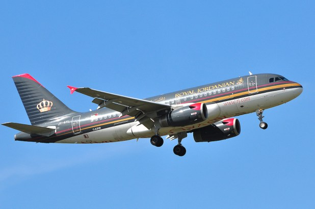 Vuelo Royal Jordanian