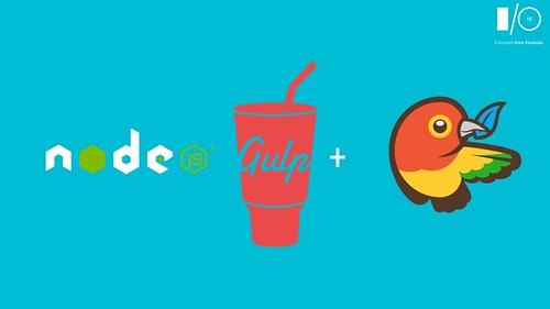 node.js, Gulp, and Bower