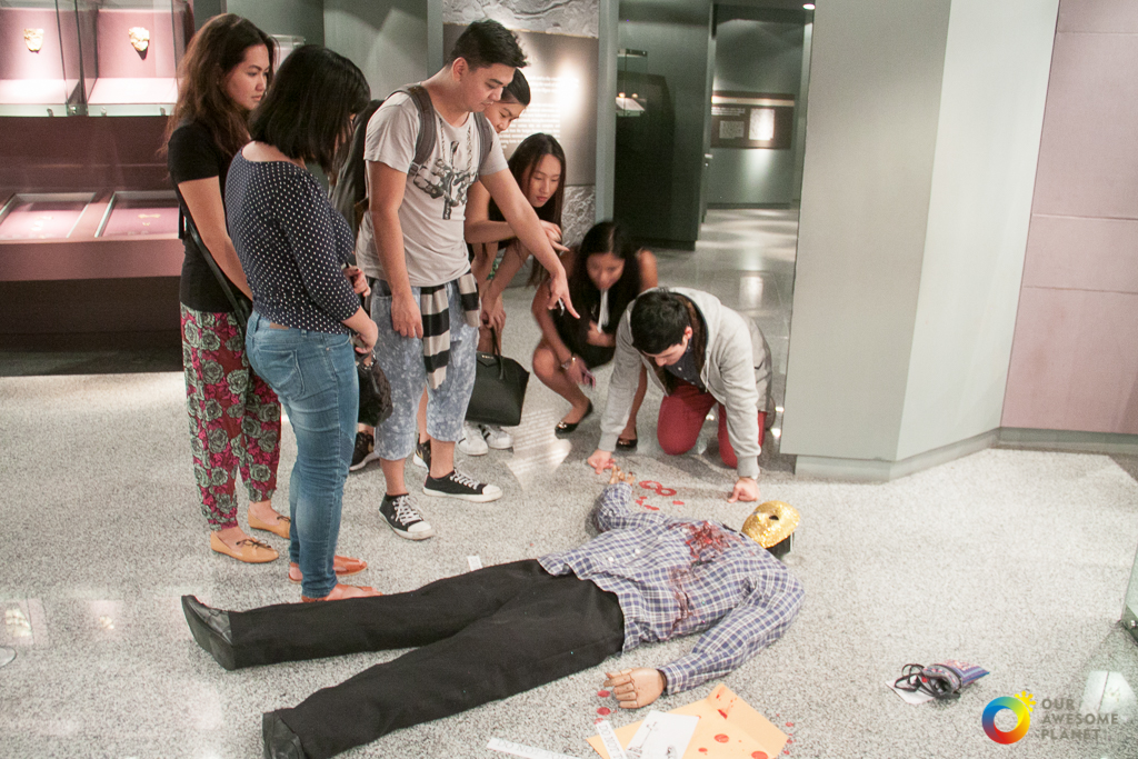 Midnight Mystery: Murder at the Museum