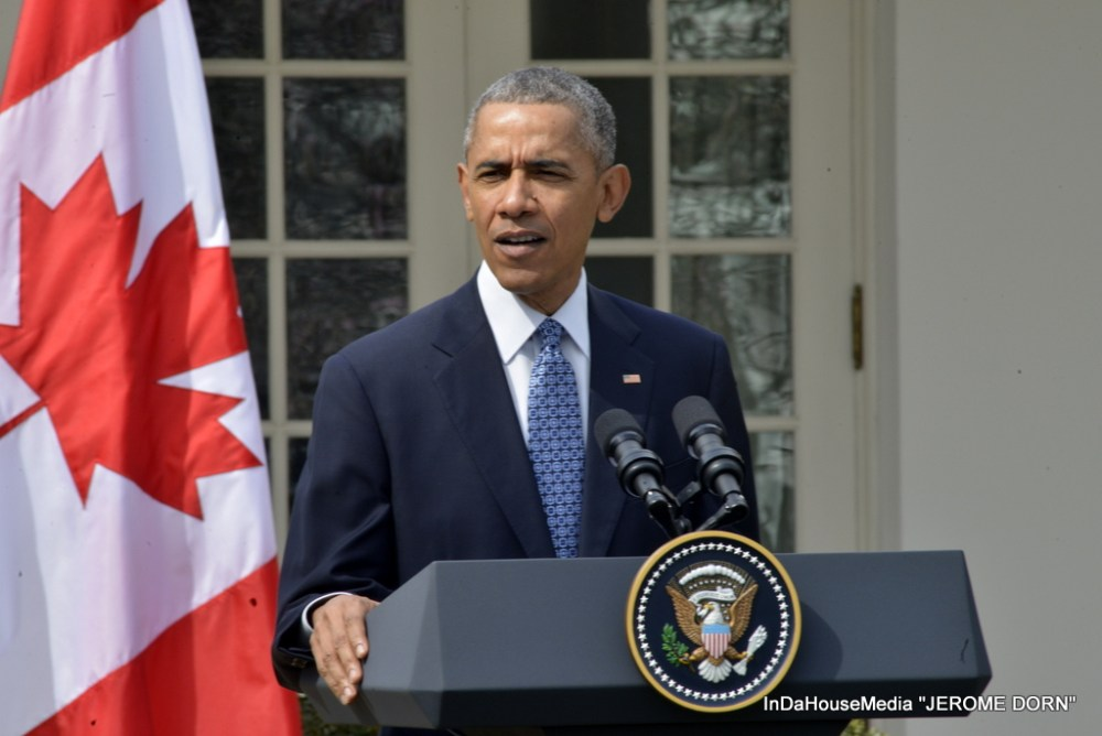 PRESIDENT OBAMA WELCOMES CANADIAN PRIME MINISTER TO WHITE HOUSE