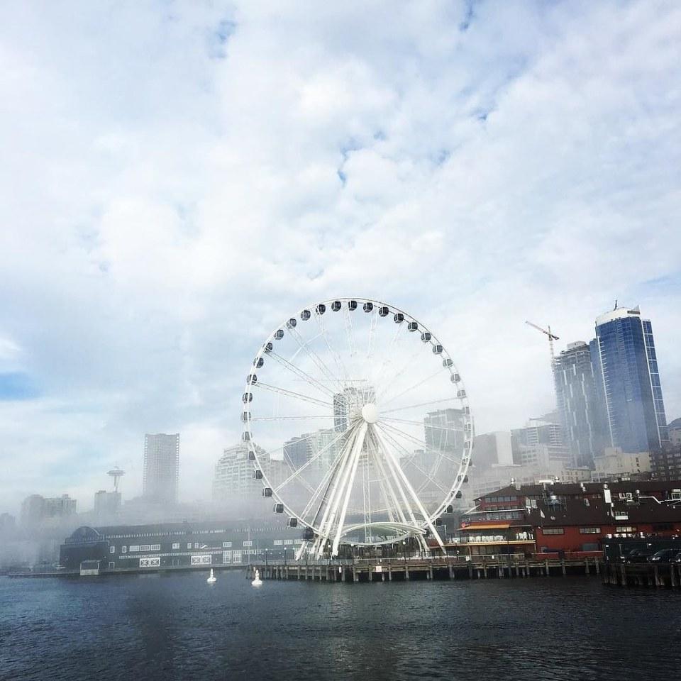 Hello, Seattle! #harbortour #familyvacation
