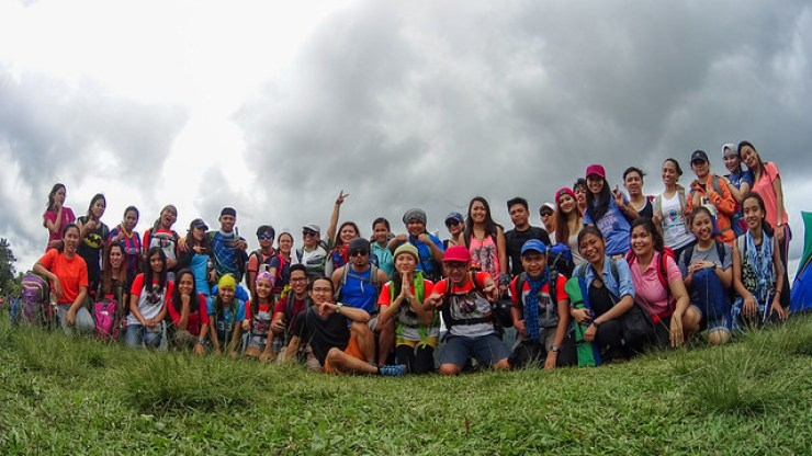 mt napua group photo with NCR Trekkers