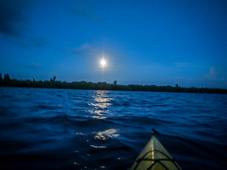 Indian River Sunrise and Moonset-38