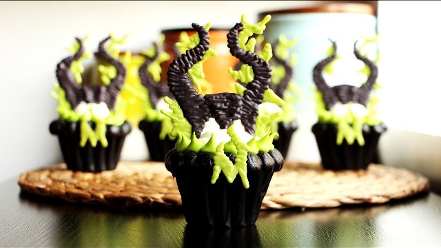 h.maleficent cupcakes