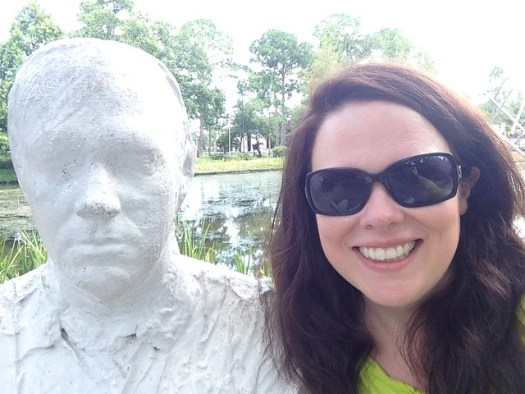 Just Me and Some Guy, Sydney and Walda Besthoff Sculpture Garden, NOMA, New Orleans