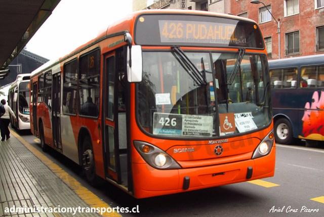 Transantiago 426 | Express | Marcopolo Gran Viale - Scania / FLXC29