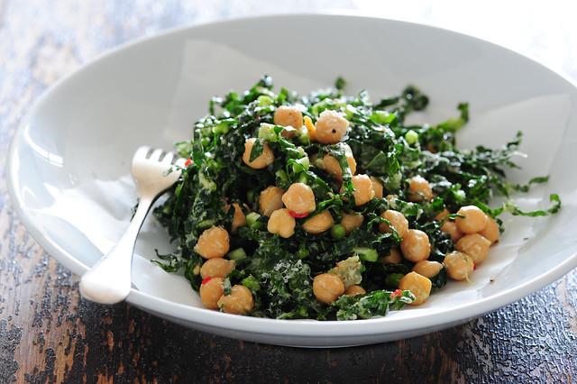 green chickpea salad-3