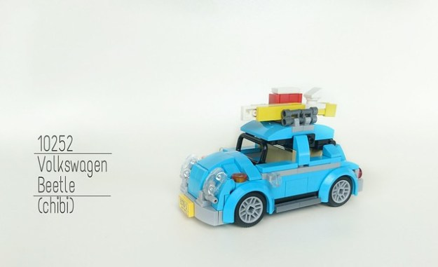 10252 Wolkswagen Beetle (Chibi) I know i wont be able to buy this set, so why not just built it? Apparently I also dont have enough parts, so the last resort is to: Chibisize it!