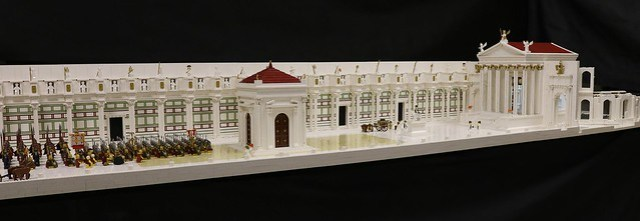LEGO Temple romain de Minerve