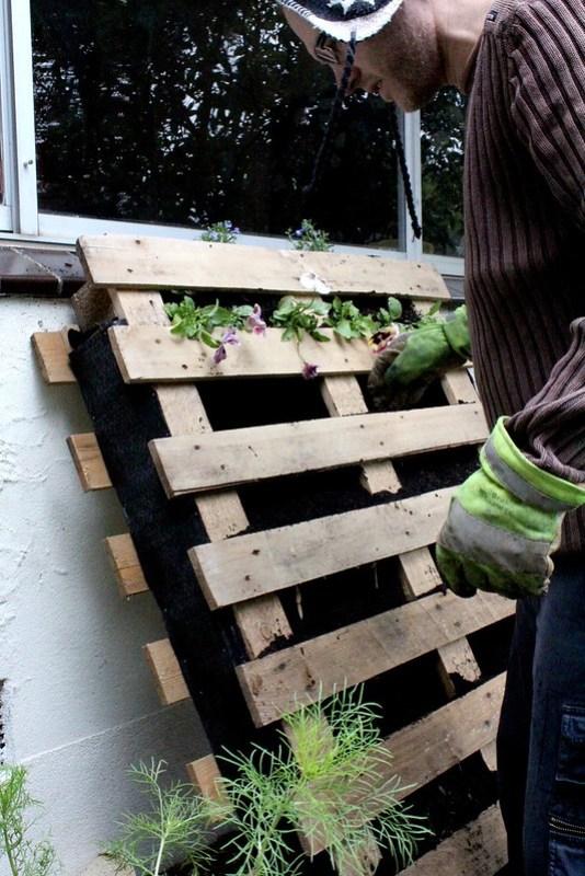 planting pallet