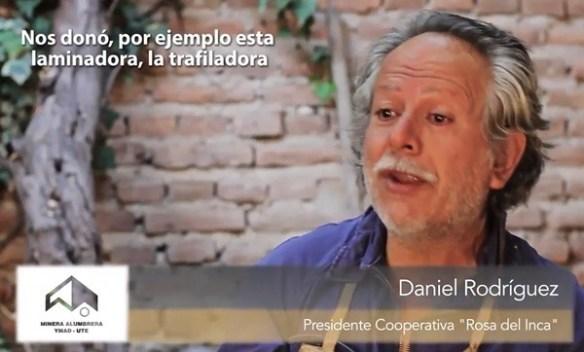 Daniel Rodriguez, Presidente de la Cooperativa