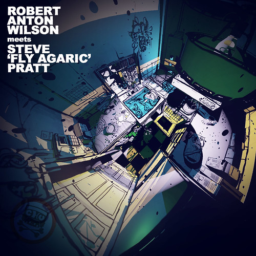"Robert Anton Wilson - Meets Steve ""Fly Agaric"" Pratt 1600 x 1600"