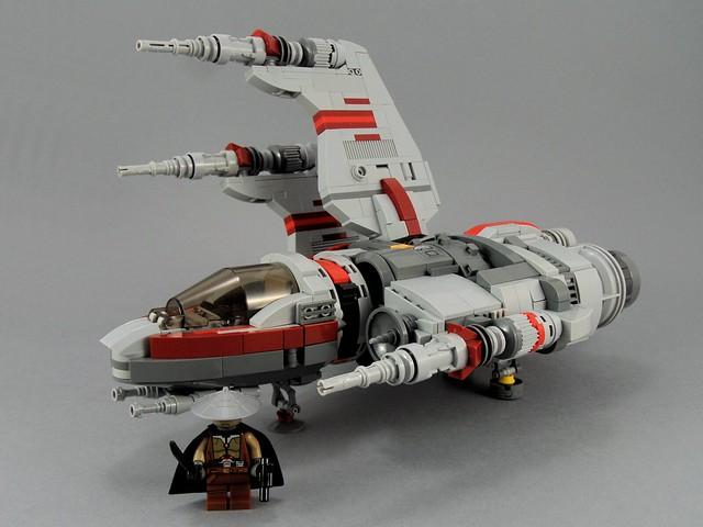 Kh-1 Vulture LEGO Vaisseau
