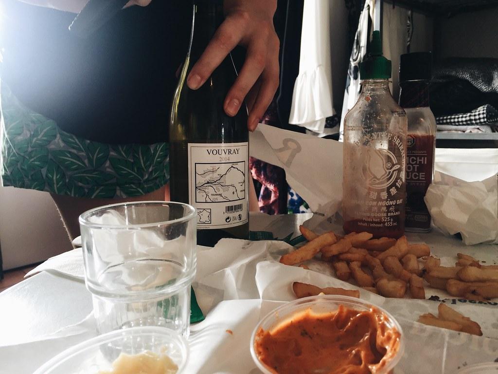 Paris 2016 de clercq french fries wine