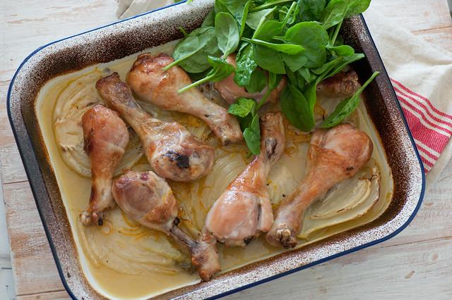 Citrus Roast Chicken & Fennel-3