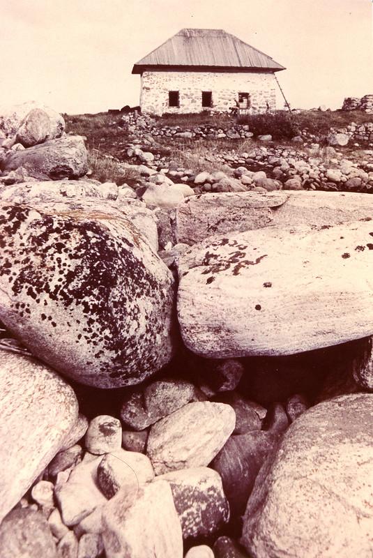Соловки каменный дом