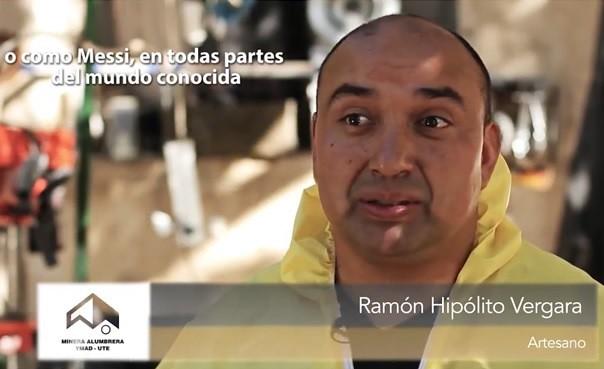 Ramón Hipólito Vergara. Artesano Rodocrosita de Andalgalá, Catamarca