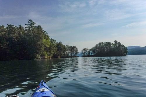 Lake Jocassee Kayaking-5