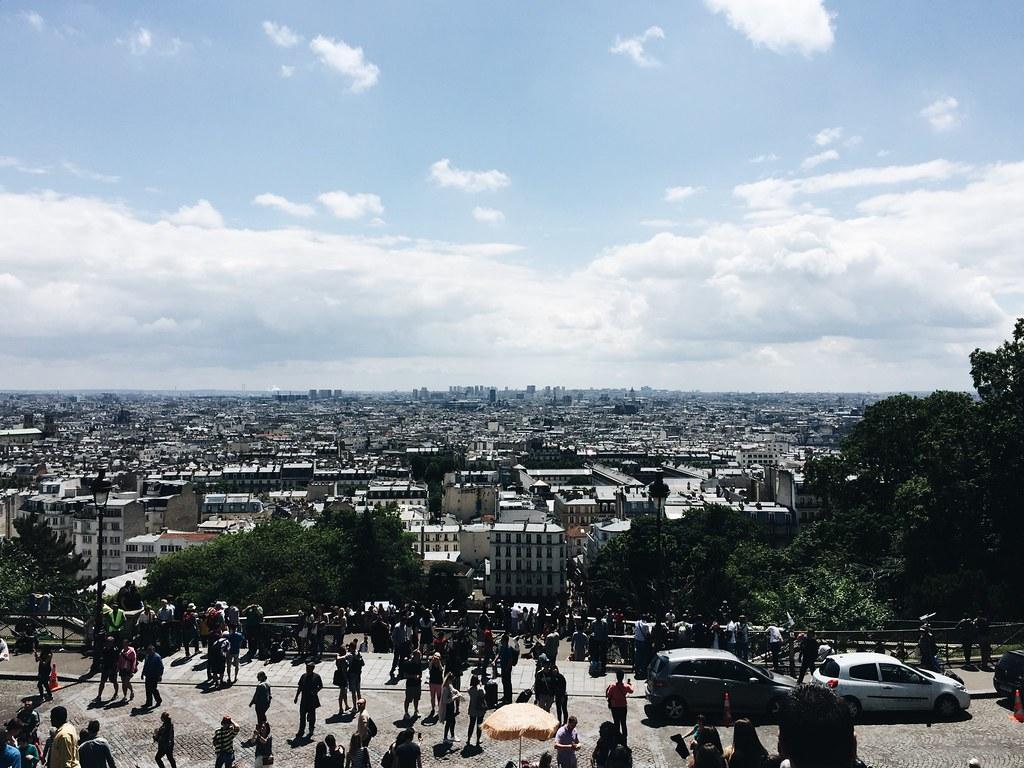 Sacré Coeur Paris view