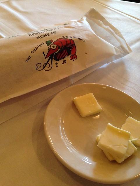 Bread, Butter. Pascal's Manale, New Orleans LA