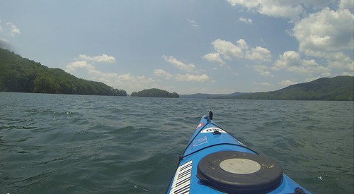 Lake Jocassee Kayaking-85