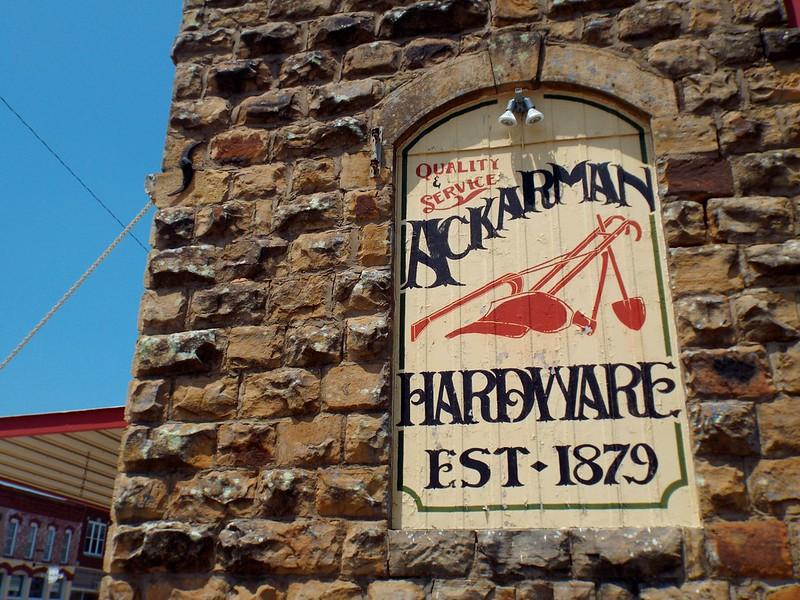 Ackermans hardware store, Sedan, Kansas, USA - the tea break project solo female travel blog