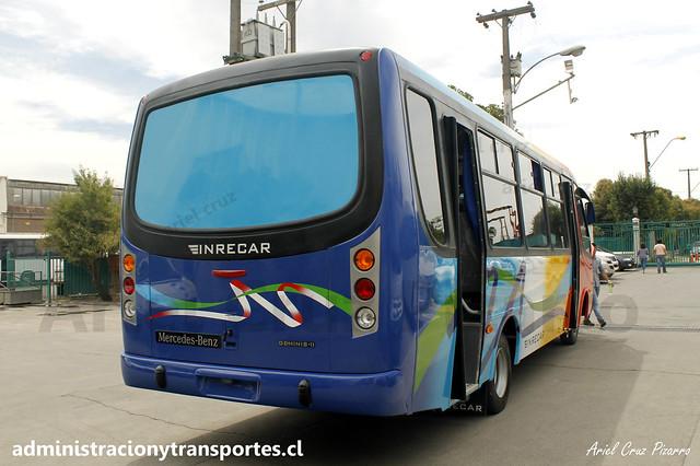 Inrecar S.A | Entrega de Bus Nuevo | Inrecar Géminis II - Mercedes Benz para Transportes Ganosa