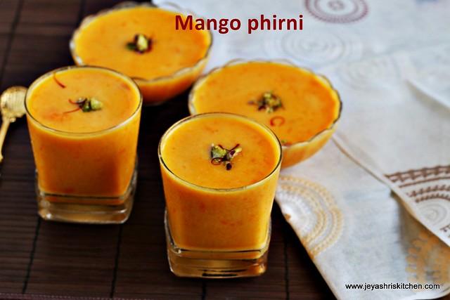 Mango phirni