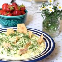 Vegetarisk midsommarmat - gubbröra (en paradrätt!)